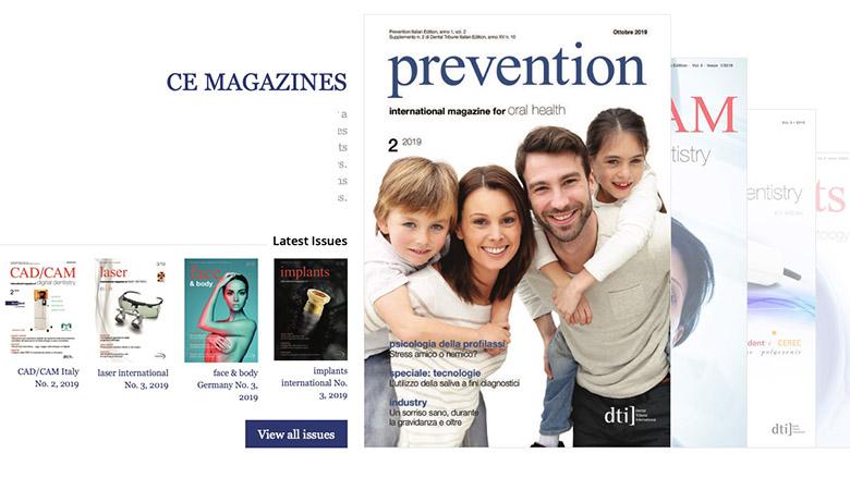 Få internasjonal kunnskap gjennom internasjonale publikasjoner fra Dental Tribune