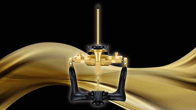 Maximum precision and perfect handling with special edition Artex CR Gold from Amann Girrbach